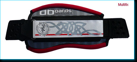 kiteboarding footstrap multifix