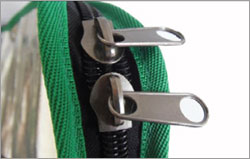 kiteboard board bag with double zipper system