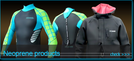 neoprene products for kiteboarding and other watersports
