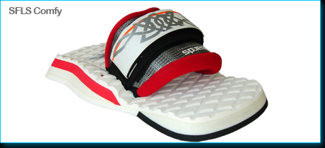 kiteboarding footpad footstrap system SFLS COMFY