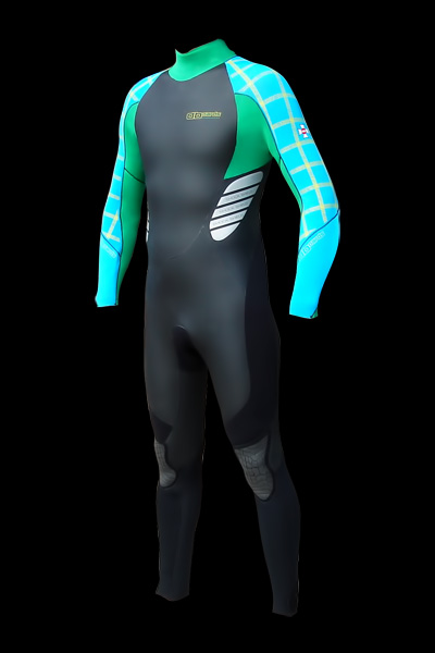 wetsuit 5/4/3 for kiteboarding and other watersports