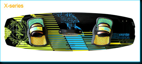 freestyle kiteboard X-series