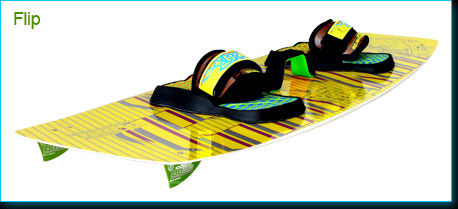 freeride school kiteboard Flip