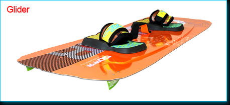 light wind school kiteboard Glider