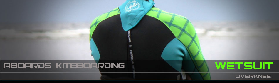 Overknee wetsuit for kitesurfing and other watersports