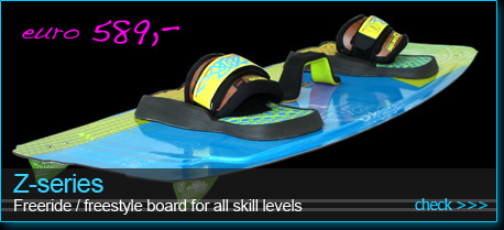 freeride freestyle kiiteboard Z-series