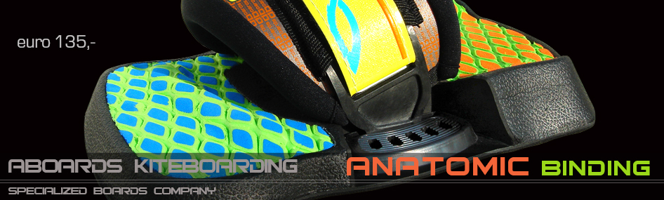 ANATOMIC binding footstraps footpads with D3O™ material
