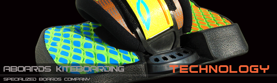 ANATOMIC - kiteboarding footstraps footpads with D3O™ material