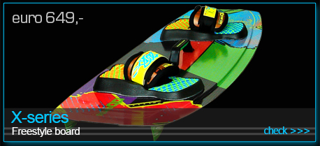 freestyle kiteboard X-series 2015